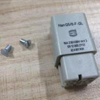 ABB机器人配件 紧凑控制柜电源接头 Han Q5/0-F-QL