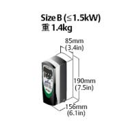 尼得科驱动器SKBD2001501.5KW已停产升级型号:C200-02200075A工博士智锋-尼得科