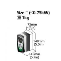 尼得科驱动器SKA1200075 0.75KW已停产升级型号:C200-01200042A工博士智锋-尼得科