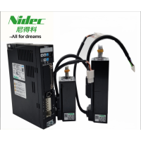 日本尼得科三协伺服电机 MM500N2LN17(中惯性)50W 适配驱动器:DA2YZ22